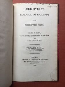 Lord-Byron-039-s-Farewell-to-England-with-Three-Other-Poems-viz-Ode-to-St-Helena-1st