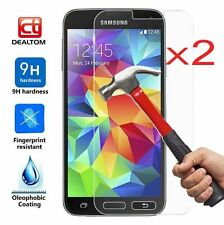 2Pc 9H+ Premium Tempered Glass Film Screen Protector Cover For Samsung Galaxy S6