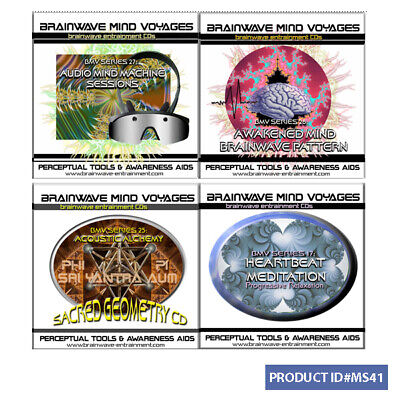4 CD MODERN SHAMAN SHAMANIC BRAINWAVE AUDIO TRANCE SHAMANISM MIND JOURNEY  TRIP | eBay