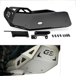 Black Bash Skid Plate Engine Guard Chassis For BMW F 850 GS F 750 GS 2018-19 AT2