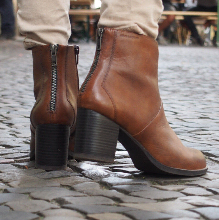 Vagabond Schuhe Ankle-Stiefel ANNA 4021-501-27 braun Stiefeletten Echtleder Ankle-Stiefel Schuhe NEU 1a0111