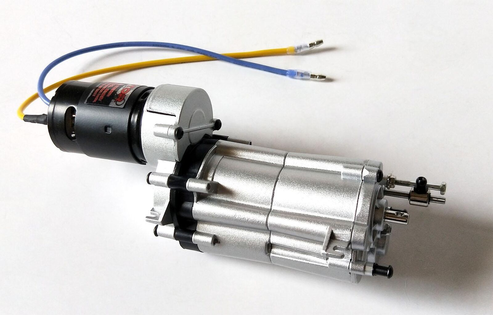 HG 1/10 caja de cambios de metal control de radio Asamblea para P407 44 Modelo de Carreras de recolección Rally sobre orugas