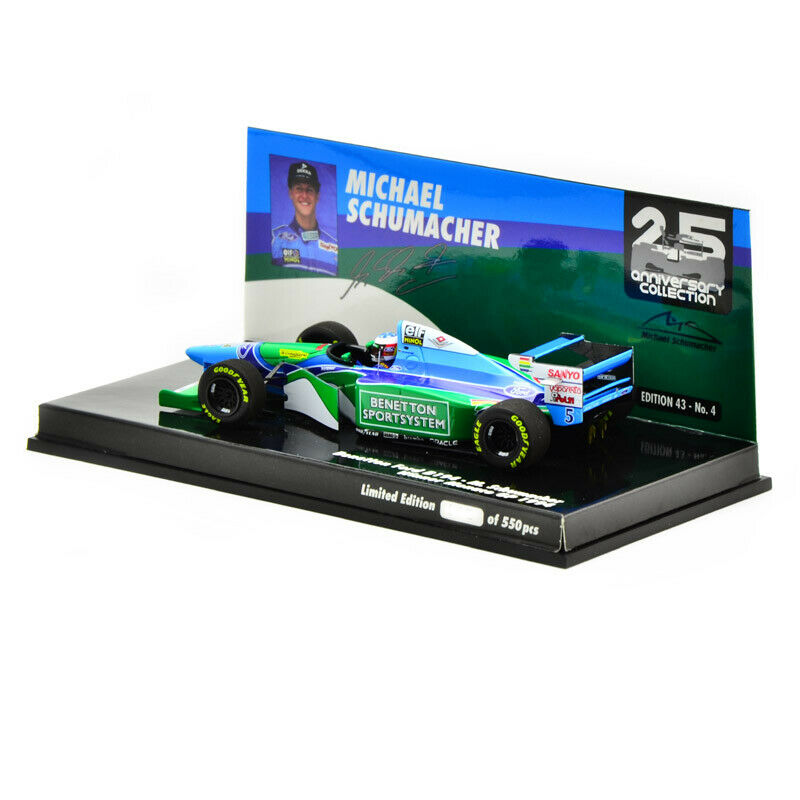 MINICHAMPS MODEL  Benetton B194 Ford Winner GP Monaco 1994 M.Schumacher