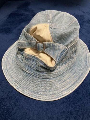 kapital old man and sea HAT hat bucket hat denim f