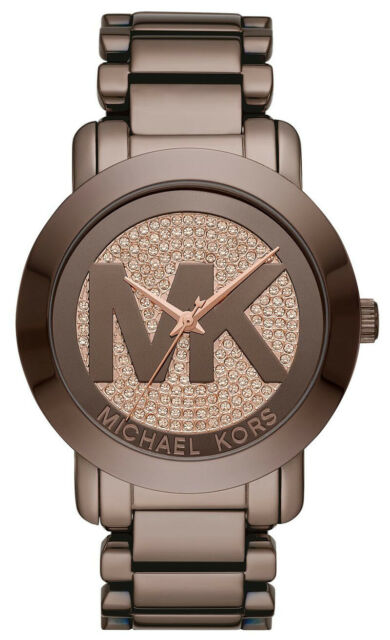 6e03bd92c8ce Michael Kors MK6534 Sable Brown Dial Brown IP Stainless Steel Women s Watch