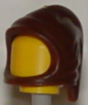 Headgear Hood NEW Jedi Knight Sith Lord cowl Star Wars LEGO x 10 Black Minifig