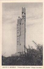 9365) WW1, MONTE SAN MICHELE, MUNUMENTO A CORRIDONI ALLA TRINCEA DELLE FRASCHE.