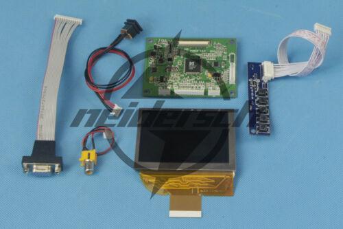 VGA AV PD035VX2 Controller Board with 3.5inch lcd display 640x480 resolution