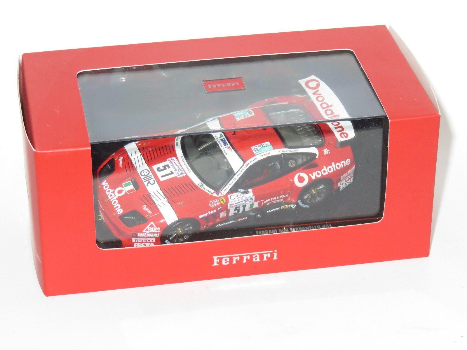 1 43 Ferrari 550 Maranello BMS Scuderia Italia Le Mans 24 horas 2005  51