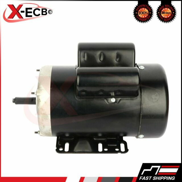 New 2 HP Electric Motor 56C Single Phase TEFC 115//230 Volt 3450 RPM