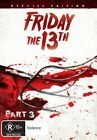 Friday The 13th - Part 3 (DVD, 2009)