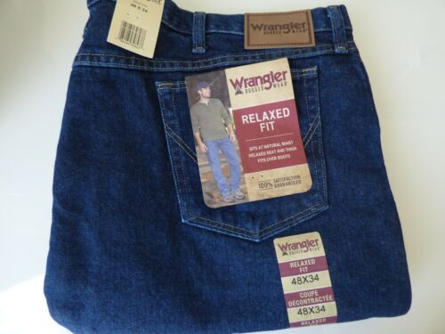 Wrangler Rugged Wear Relaxed Fit Jean Men/'s SIZE BIG /& TALL