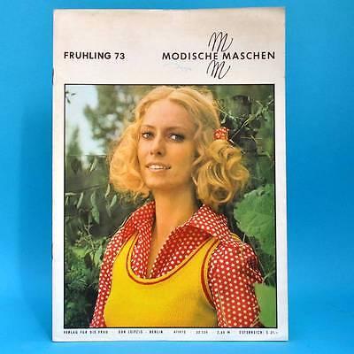 Aufstrebend Modische Maschen 4 Von 1972 | Schnittmuster Mode Verlag Für Die Frau | Ddr X Festsetzung Der Preise Nach ProduktqualitäT