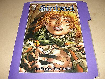 Vault 35 SINBAD #13 Cover A NM Zenescope Comic