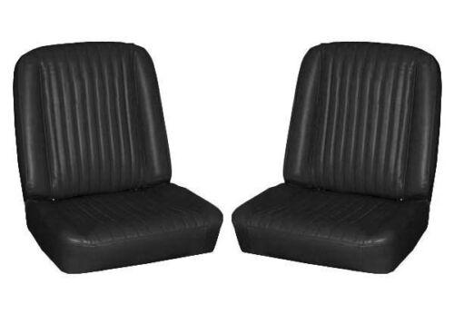 Black 65 Falcon Futura Hardtop /& 2 Door Sedan Front Bucket Upholstery