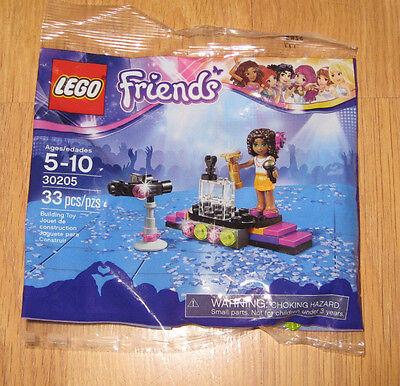 33 pcs #30205 Lego Friends Pop Star Andrea Red Carpet NEW
