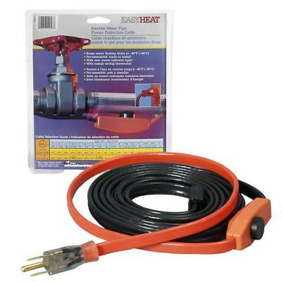 Easy Heat Inc AHB-112 Water Pipe Freeze Protection Cables 12ft  Ready To Install