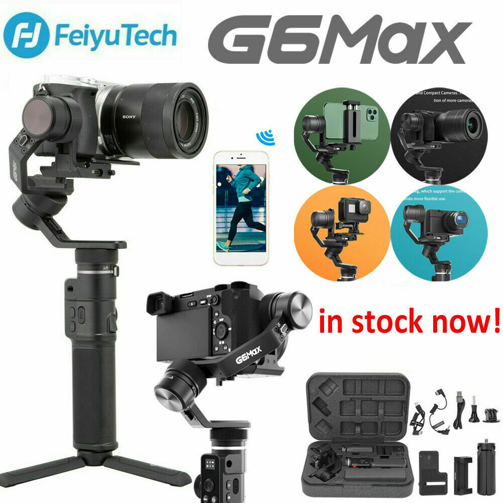 FeiyuTech G6 Max 3-Axis Gimbal 3 in 1 Stabilisator für Smartphone Gopro Kamera