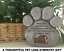Cat-Stone-Grave-Paws-Marker-Name-Headstone-Garden-Pet-Memorial-Paw-Dog-Print thumbnail 5