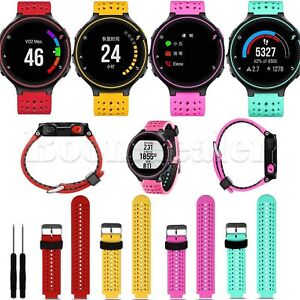 Sport-Silicone-Watch-Band-Strap-For-Garmin-Forerunner-235-630-230-GPS-Run-Watch