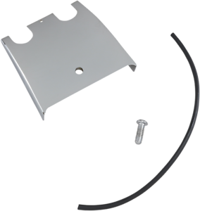 Drag Specialties Chrome Dash Panel Extension 1989-2007 Harley Touring FLH FLT