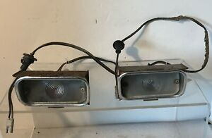 OEM-1964-Mercury-Comet-Front-Turn-Signal-Lens-Assembly-Left-amp-Right