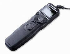 Digital LCD Timer Shutter Release Remote for Sony A900 A850 A580 A77 A55 A33 A35