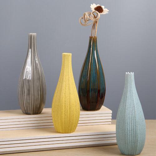 Simple Flower Vase Ceramic Delicate Office Desktop Table Decoration Gift