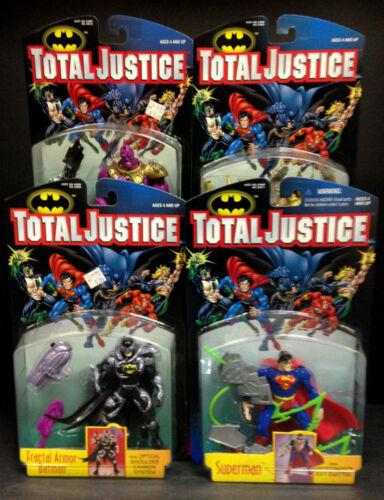 KENNER TOTAL JUSTICE LEAGUE SERIES 2 COMPLETE 4 FIGURE SET DESPERO SUPERMAN A423