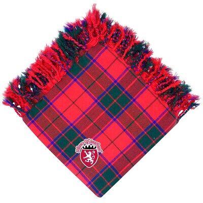 "Men/'s Scottish Kilt Fly Plaid Tartan 48/"" X 48/"" Acrylic Wool Highland Wear"