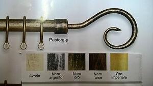 Bastoni In Ferro Battuto.Dettagli Su Bastone Tenda Ferro Battuto Estensibile Pastorale