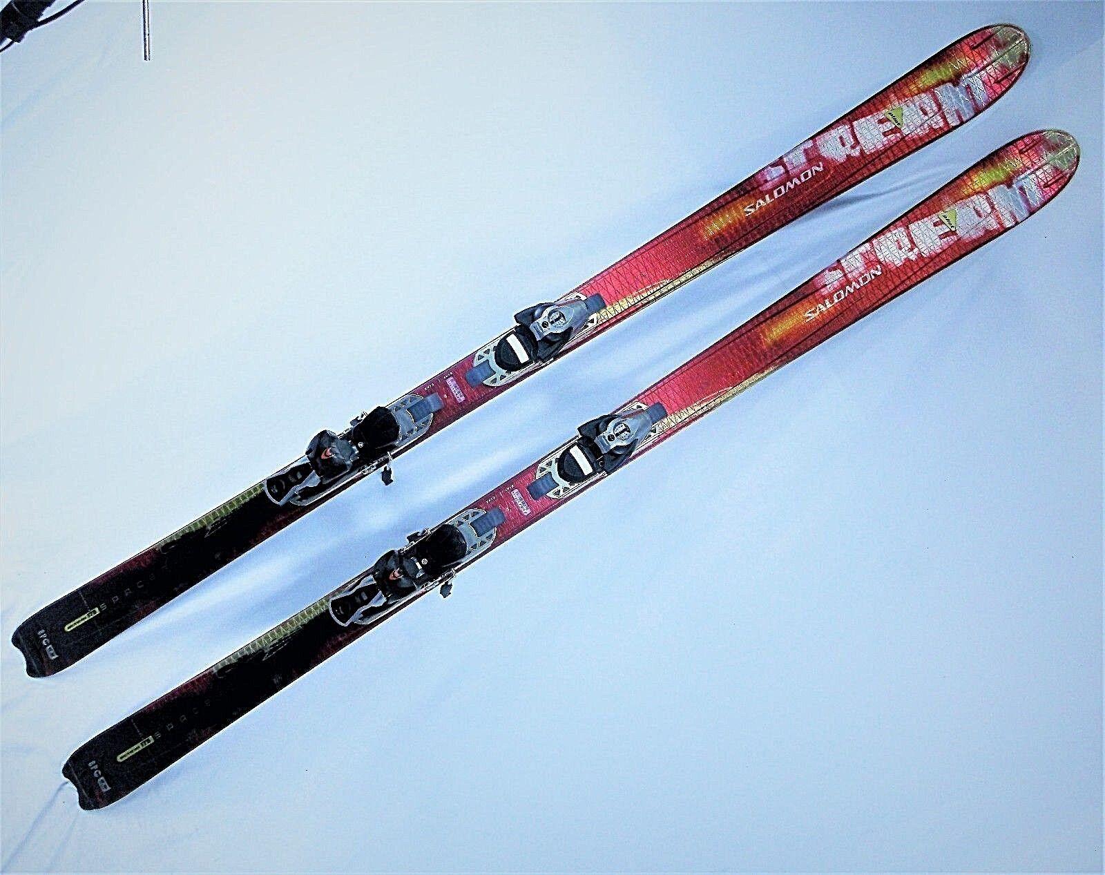Salomon Pilot 8 Scream 175cm skis, New, with New Salomon Bindings