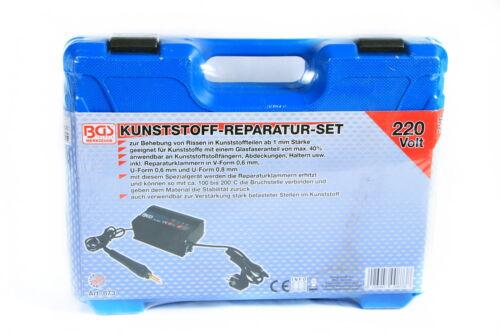 873 BGS Kunststoff Reparatur Satz Schweißgerät für KFZ Autoteile Halter usw