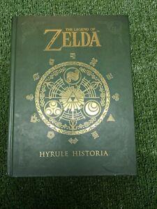 Hyrule Historia Legend of Zelda Hardcover Nintendo Exclusive HC