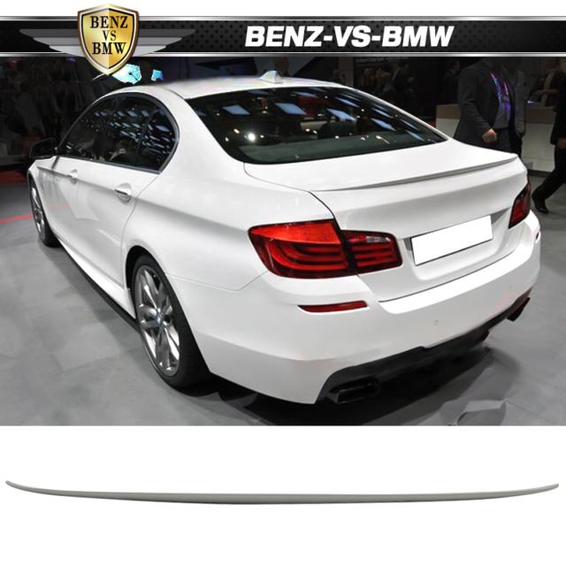 Fits 11-16 F10 Sedan M5 Trunk Spoiler Wing Painted #300 Alpine White III