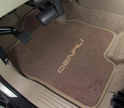1999-2019 GMC Sierra 3pc Carpet Floor Mats Choose Color /& Official Logo