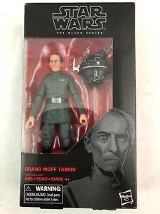 """Hasnro Star Wars The Black Series #63 Grand Moff Tarkin 6/"""" Figure"""