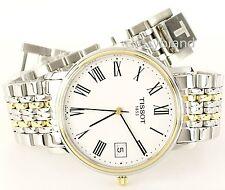 Tissot T52248113  Swiss Quartz Desire Men's Watch, Two Tone Bracelet - NEW