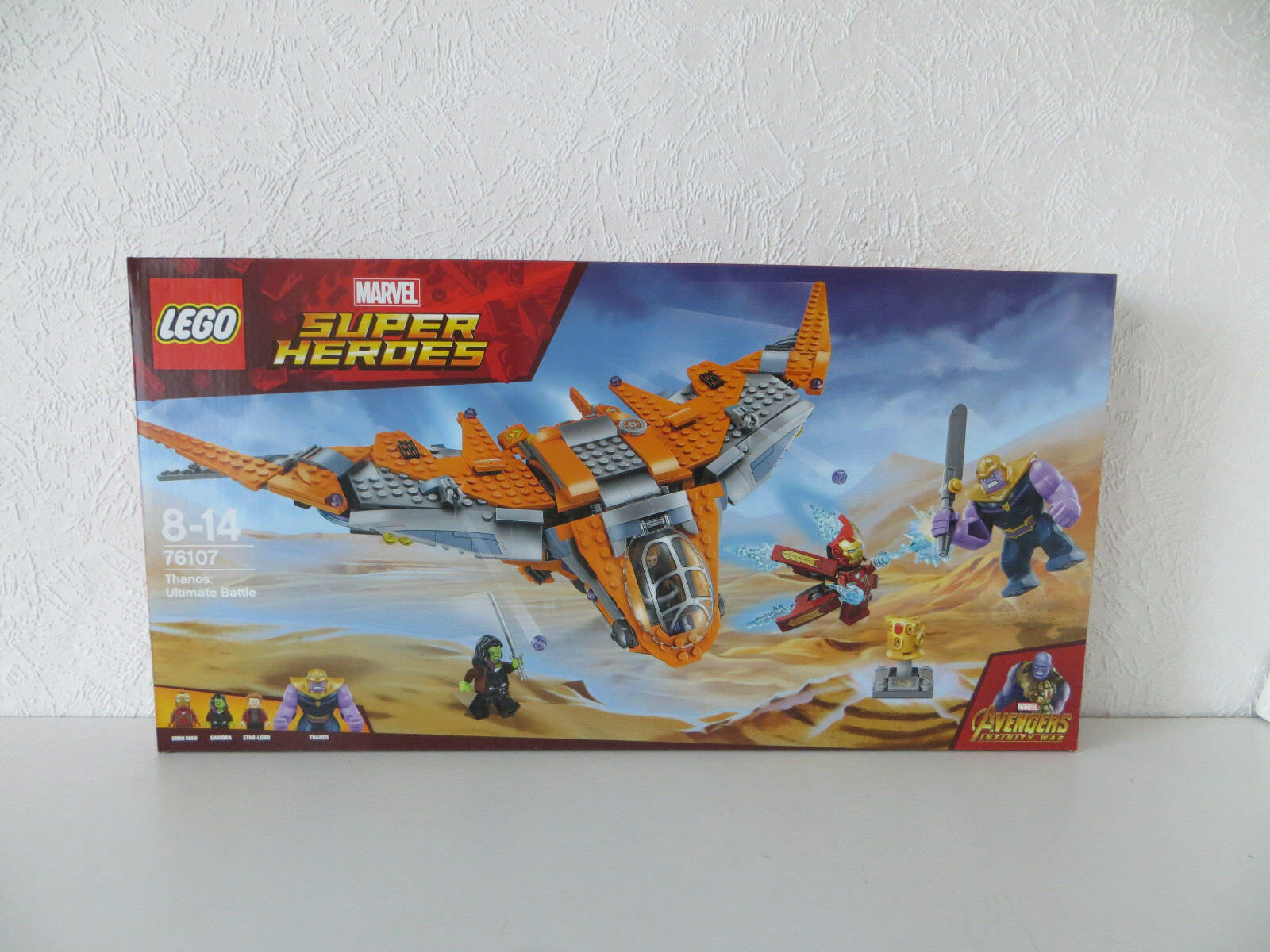 LEGO Marvel Super Heroes Thanos Das ultimative Gefecht 76107