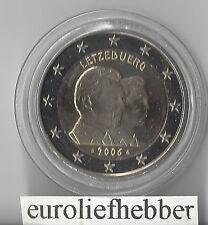 Luxemburg     2 Euro Commemorative    2006  Henri & Guillaume  in CAPSULE