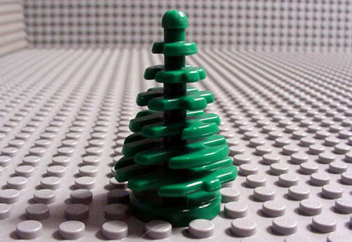 Plant tree little pine sets 6552 10199 6549 7892 2126 Arbre sapin LEGO 2435