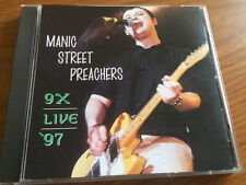 Manic Street Preachers 9X Live '97 CD US Seller