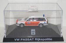 Herpa/De Kleine VW Passat Rijkspolitie HOLLAND Polizei in PC 1:87