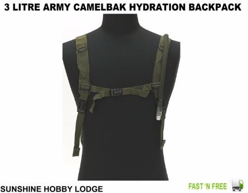 Hydratation Pack Sac à dos chasse style militaire 3 L AQUA vessie Camelbak New