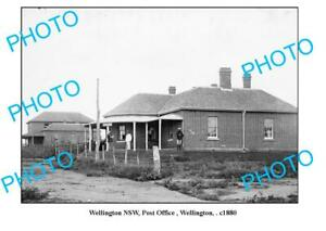 OLD-6-X-4-PHOTO-WELLINGTON-NEW-SOUTH-WALES-POST-OFFICE-c1880