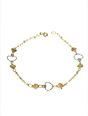 Fine Jewelry Precious Metal Without Stones Objective Pulsera 18 Quilates De Oro 750/1000-2,55gr