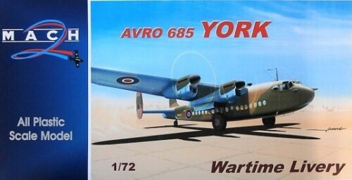 Neuf Mach 2 Gp 079-1//72 Avro 685 York Wartime Livery