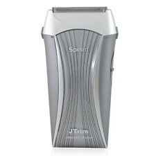 JTrim Speed 2 Travel Electric Shaver For Men Flex 2 Blades Foil Electric Razor W