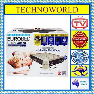 GENUINE-EUROBED-LUXURY-QUEEN-TUFF-TEX-FABRIC-AS-SEEN-ON-TV-SELF-INFLATABLE-BED