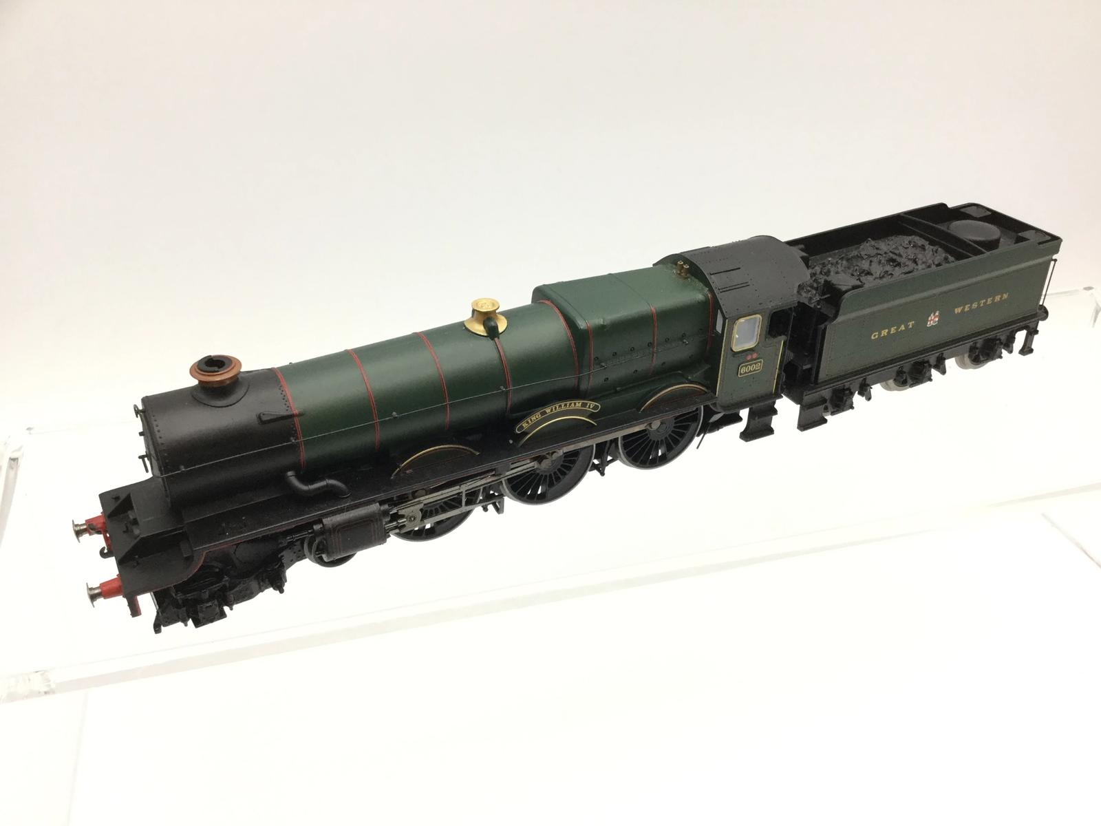 Hornby R3074 OO Gauge King Class King William IV GWR Grün - DCC SOUND